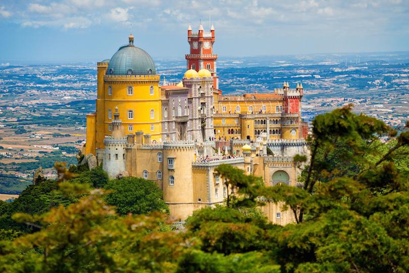 Pena National Palace above Sintra