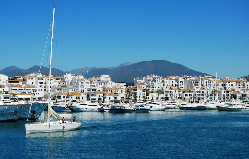 Puerto Bans, Marbella