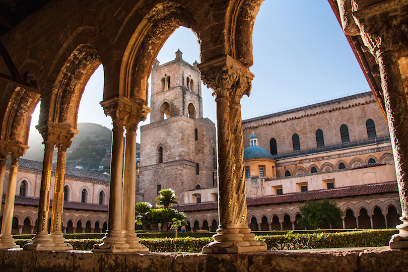 Cathedral of Monreale, Sicily, Italy