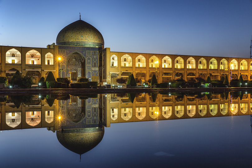 Sheikh lotf allah mosque in Isfahan Iran